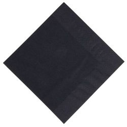 Serviettes ouate Noire -...