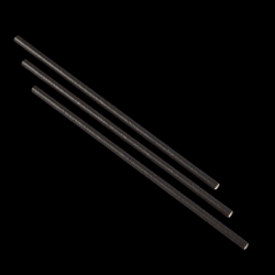 paper straws black 20cm x500