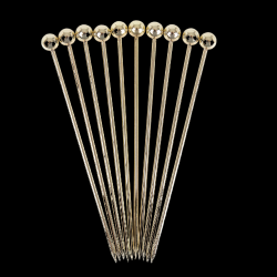 Ball Garnish Pick PK10 Gold