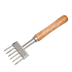 Ice 6 picks wood handle 23cm